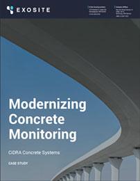 Exosite Case Study • Modernizing Concrete Monitoring